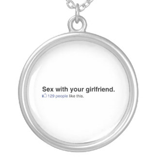 129 People like your girlfriend Necklace