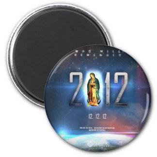 12.12.12 Celebración de nuestra señora de Guadalup Imán Redondo 5 Cm
