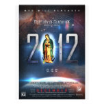 """12.12.12 Celebrating Our Lady of Guadalupe 8.5"""" X 11"""" Flyer"""