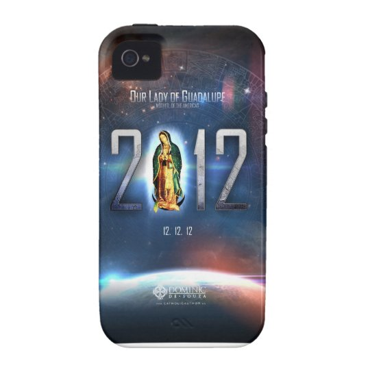 12.12.12 Celebrating Our Lady of Guadalupe Case For The iPhone 4