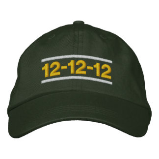 12-12-12 Day Embroidered Hat