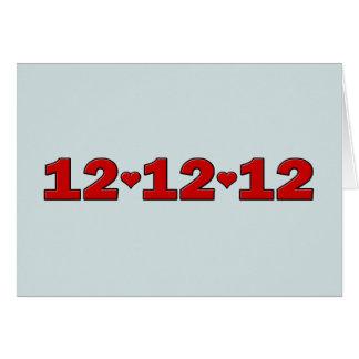 12.12.12 Hearts Card