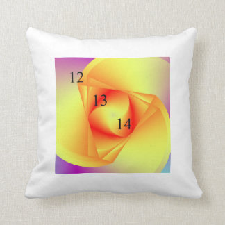 12/13/14 Blood and Triangles Throw Pillow