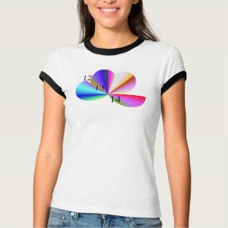 12/13/14 camiseta de la flor del fractal playera
