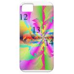 12/13/14 caso del iPhone 5 de la flor del fractal iPhone 5 Cárcasas
