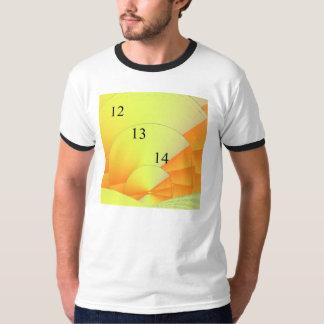 12/13/14 Digital Sunrise Ringer T-Shirt