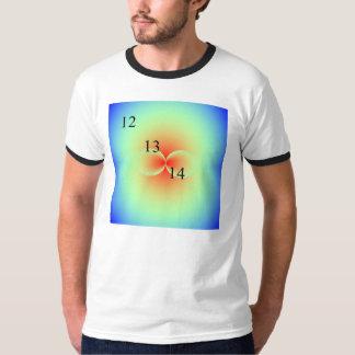 12/13/14 Kissing Spheres Rainbow T-Shirt