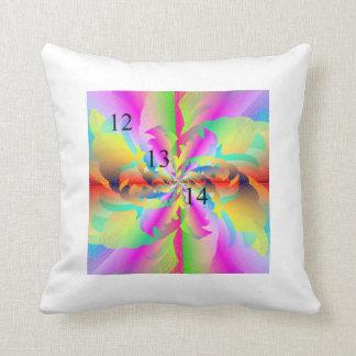 12/13/14 Rainbow Fire Flower Pillow