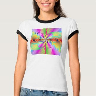 12/13/14 Rainbow Fire Flower T-Shirt