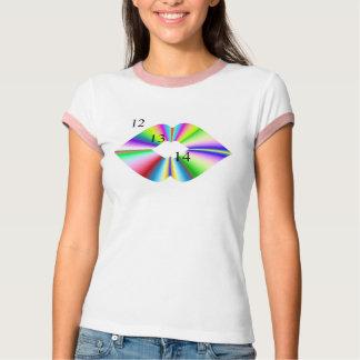 12-13-14 Rainbow Kiss T-Shirt