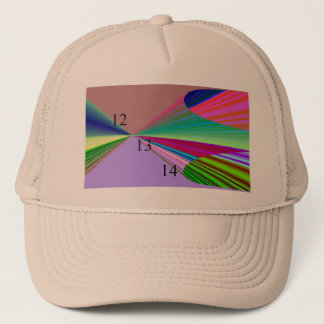 12-13-14 Rainbow Smoosh Trucker Hat