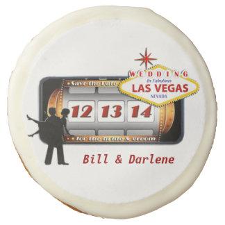 12.13.14 Save the Date Las Vegas COOKIES Sugar Cookie