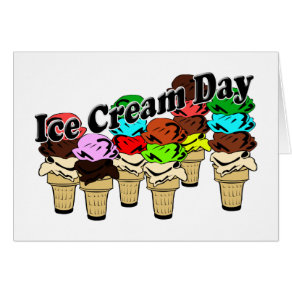 12-13 Ice Cream Day (Unofficial) Card
