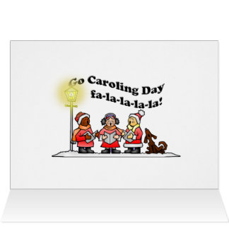 12-20 Go Caroling Day Stationery Note Card