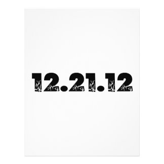 12.21.12 2012 December 21, 2012 Flyer