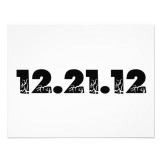 12 21 12 2012 December 21 2012 Custom Invite