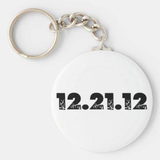 12.21.12 2012 December 21, 2012 Keychain