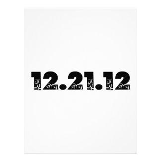 12.21.12 2012 December 21, 2012 Personalized Letterhead