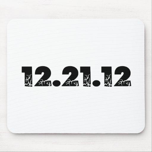 12.21.12 2012 December 21, 2012 Mousepads