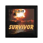 12-21-12 superviviente del extremo de la tierra caja de regalo