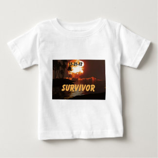 12-21-12 Survivor of the end of the earth Baby T-Shirt