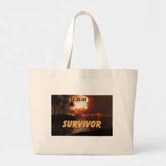 12-21-12 Survivor of the end of the earth Tote Bag