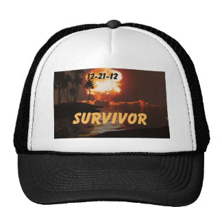 12-21-12 Survivor of the end of the earth Hats
