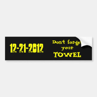 12-21-2012 Bumper Sticker