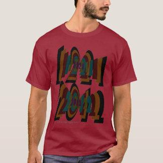 12/21/2012+Camiseta oscura básica Playera