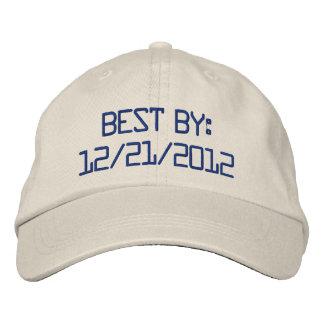 12 21 2012 casquillo gorra de béisbol