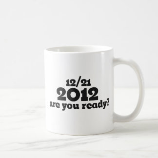12/21 2012 end of the world coffee mug