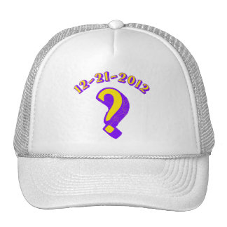 12-21-2012  ? TRUCKER HAT