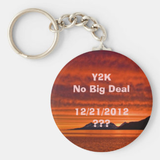 12/21/2012 Sunset Key Ring Basic Round Button Keychain
