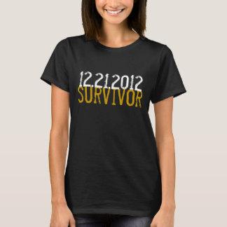 12/21/2012 SURVIVOR t-shirt