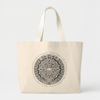12.21.2012: The New Beginning Mayan commemorative Large Tote Bag