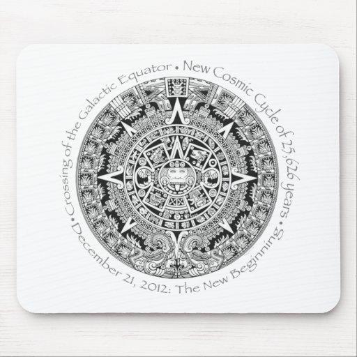 12.21.2012: The New Beginning Mayan commemorative Mousepads