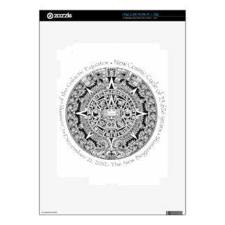 12.21.2012: The New Beginning Mayan commemorative Skins For iPad 2
