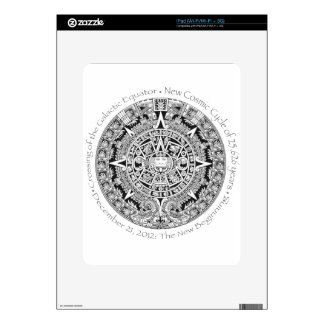 12.21.2012: The New Beginning Mayan commemorative Decals For The iPad