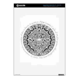 12.21.2012: The New Beginning Mayan commemorative Skins For iPad 3