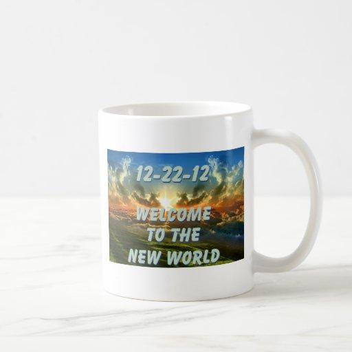 12-22-12 recepción al nuevo mundo taza básica blanca