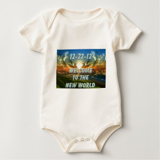 12-22-12 Welcome to the New World Baby Bodysuit