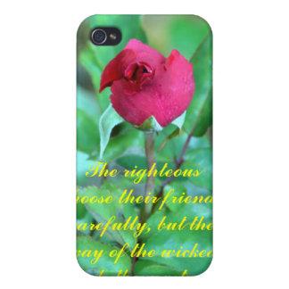 12:26 de los proverbios iPhone 4 carcasa