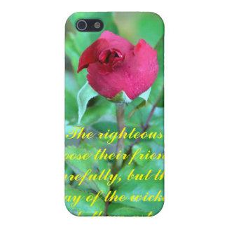 12:26 de los proverbios iPhone 5 cárcasa