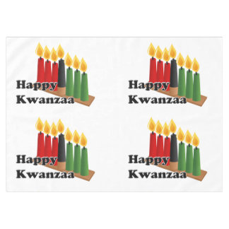 12-26 Kwanzaa feliz Mantel De Tela