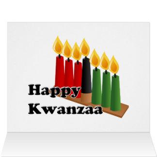 12-26 Kwanzaa feliz Felicitaciones