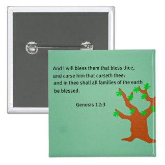 12:3 de la génesis pin cuadrado