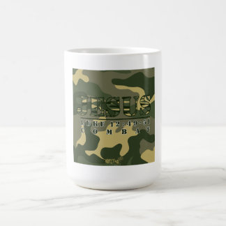 12 49 de Lucas del combate de Jesús - taza de café