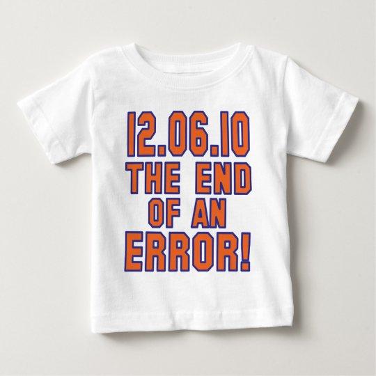 12.6.10 - ¡Final de un error! ¡- SE ENCIENDE el Playera De Bebé
