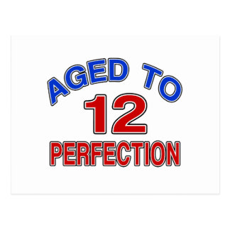 12 Aged To Perfection Postcard