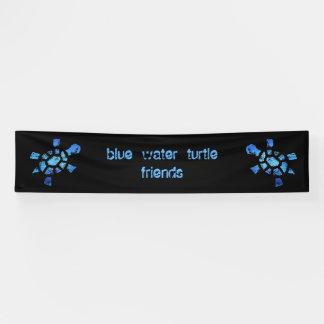 12' amigos de x2.5 de las tortugas del agua azul lona